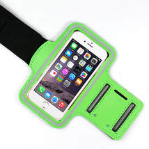 Sports Running Workout Gym Armband Arm Band Case Neoprene iPhone 6 6S Green - $4.88