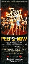 Aubrey O'Day Peepshow Vegas Promo Card - $1.95