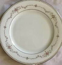 Noritake Fairmont Fine China 2 Salad Plates Dishes Platinum Trim Handles 6102 - $24.74