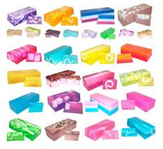 G08 - Evocative Fragrances Hand-Crafted Loaf Slice Soaps 2 x Bar or 1.3kg Bars - $10.30+