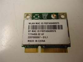 Broadcom BCM943142HM T77H456.02 HF Mini PCI-e Wlan Wireless Bluetooth Card - $7.35