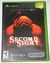 XBOX - Codemasters - SECOND SIGHT (Complete with Manual) - $6.50