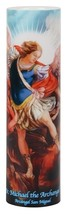 SAINT MICHAEL THE ARCHANGEL - LED Flameless Devotion Prayer Candle