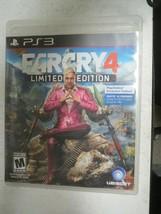 Far Cry 4 -- Limited Edition (Sony PlayStation 3, 2014) - $9.00