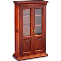 Empty Dollhouse Glass Door Cabinet 1.717/9 Reutter Wood Miniature - $38.95
