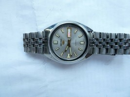 seiko 5 7S26 automatic vintage japan stainless steel mens watch - $70.13