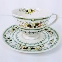 Royal Doulton Provencal Cup & Saucer Two Piece Set T.C. 1034 - $5.95