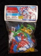 1776 British Soldiers Marx Toy Soldier Play Set Figures Mexican 1990s New - $24.99