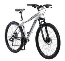 "27.5"" Schwinn Aluminum Comp Men's Mountain Bike Silver Outdoor Exercise Black - $255.64"