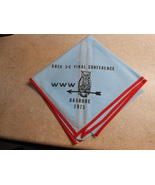 NEW AREA 3-E FINAL CONFERENCE 1973 NECKERCHIEF BASHORE SCOUT CAMP WWW BS... - $16.95