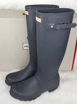Hunter Women's Original Tall Wellington Boots - Dark Slate Sz 9 New! - $119.99