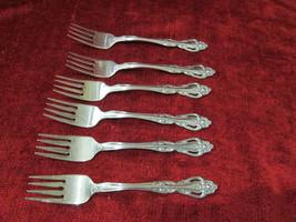 Imperial Chalmette   set of 6 salad forks - $27.67