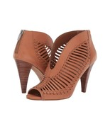 Women Vince Camuto Acha Cutout Peep Toe Booties, Multiple Sizes Brick VC... - £86.26 GBP