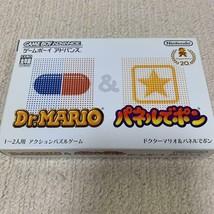 GBA DR.MARIO & PANEL DE PON Nintendo Retro Game Soft Game Boy Advance - $31.76