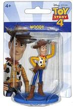 "Disney Pixar Toy Story 4 Woody 2.5"" Mini Figure Cake Topper Mattel - $6.92"