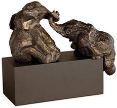 Uttermost Playful Pachyderms 7.75 x 16 x 15.75, Antique Bronze - $151.80