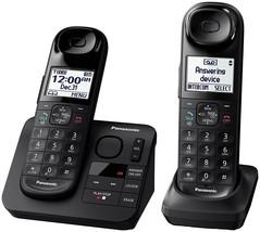 cordless handsets, Dect_6.0 2-handset Landline panasonic cordless handset - $107.99