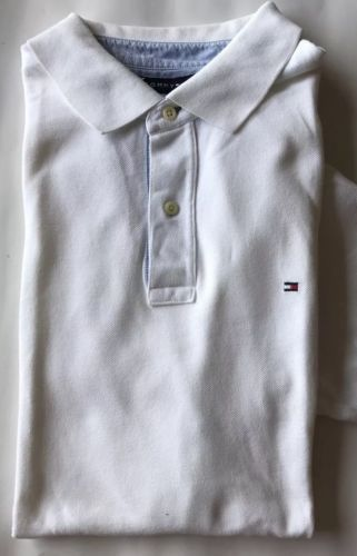 336c7d0c Tommy Hilfiger Men Polo Shirt White XL Short and 50 similar items. 12