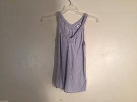 Womens H&M Light Gray V-Neck Tank Top, size XS