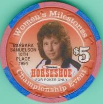 $5 Casino Chip, Horseshoe Club, Las Vegas, NV. Women's Milestones 1996. K98. - $6.50