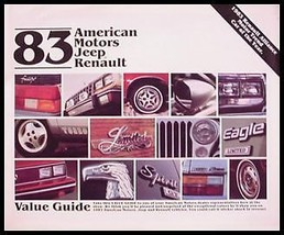1983 Jeep AMC Renault Brochure, CJ5 CJ7 Scrambler - $7.68