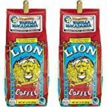 Lion Coffee Vanilla Macadamia Nut Coffee (Two 10 Ounce Bags) - $27.50