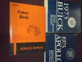 1973 BUICK REGAL CENTURY ELECTRA LUXUS Service Repair Shop Manual Set 3 ... - $178.11