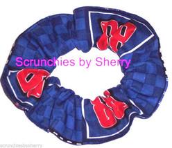 Dale Earnhardt Jr Blue Fabric Hair Scrunchie Scrunchies by Sherry #88 NASCAR - $6.99