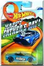 Hot Wheels - Corvette C6: Happy Father's Day! #4/4 (2015) *Blue Edition* - $2.00