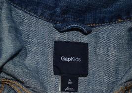 Gap Kids Outfit Set - Jean Jacket ON Leopard Skinny Jeans Jeggings + Justice Top image 4