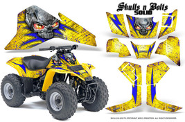 Suzuki Lt 80 Ltz80 Atv Creatorx Graphics Kit Decals Snbsdbly - $168.25