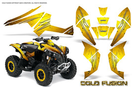Can-Am Renegade Graphics Kit by CreatorX Decals Stickers Cold Fusion Yellow - $157.09
