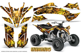 YAMAHA YFZ 450R/SE 09-13 ATV GRAPHICS KIT DECALS STICKERS CREATORX INFER... - $178.15