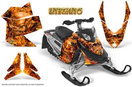Ski Doo Rev Xp Snowmobile Sled Graphics Kit Wrap Creatorx Decals Inferno O - $296.95