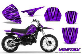 Yamaha Pw80 Graphics Kit Creatorx Decals Stickers Vortex Bpr - $108.85