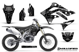 KAWASAKI KXF450 KX450F 12-15 CREATORX GRAPHICS KIT DECALS SKULLCIFIED B - $178.15