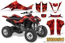 Suzuki Ltz 400 Kawasaki Kfx 400 03 08 Graphics Kit Creatorx Decals Inferno R - $178.15