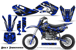 KAWASAKI KLX110 02-09 KX65 00-12 GRAPHICS KIT CREATORX DECALS BTBL - $138.55