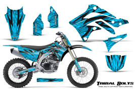 KAWASAKI KXF450 KX450F 12-15 CREATORX GRAPHICS KIT DECALS TRIBAL BOLTS B... - $257.35