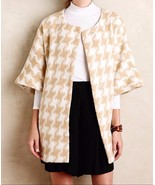 Anthropologie Houndstooth Wrap Coat $188 - By E... - $89.99