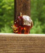 Vintage Bakelite Elephant Pendant - $775.00