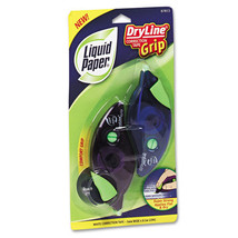 """24 Paper Mate Liquid Paper DryLine Grip Correction Tapes, 1/5"""""""" x 335"""""""" - $68.95"""