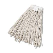 """""""Cut-End Wet Mop Head, Cotton, No. 24, White"""" - $14.32"""