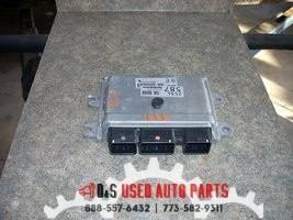 2014 NISSAN VERSA ENGINE MODULE ID# 33230DA2