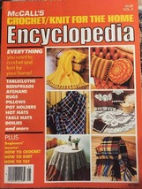 McCall's Crochet/Knit for the Home Encyclopedia Vol V Vintage Paperback - $14.14