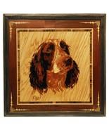 Cocker Spaniel dog portrait custom pet portrait wood art wall decor wood... - $150.00