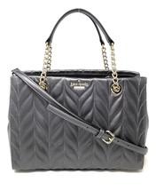 Kate Spade New York Meena Briar Lane Quilted Handbag in Gunmetal - £141.38 GBP