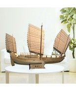 Wooden Ship Model Educational 3d Sailboat Figure Collections Hobby Gifts... - $20.78