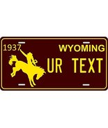 Wyoming 1937 Personalized Tag Vehicle Car Auto License Plate - $16.75