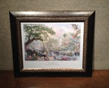 "Thomas Kinkade - Jungle Book 15 1/2"" x 18 1/2"" Framed Water Color Sketch"
